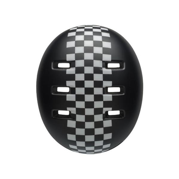 Bell Lil Ripper Baby Fahrradhelm Checkers Black White 45-52 cm