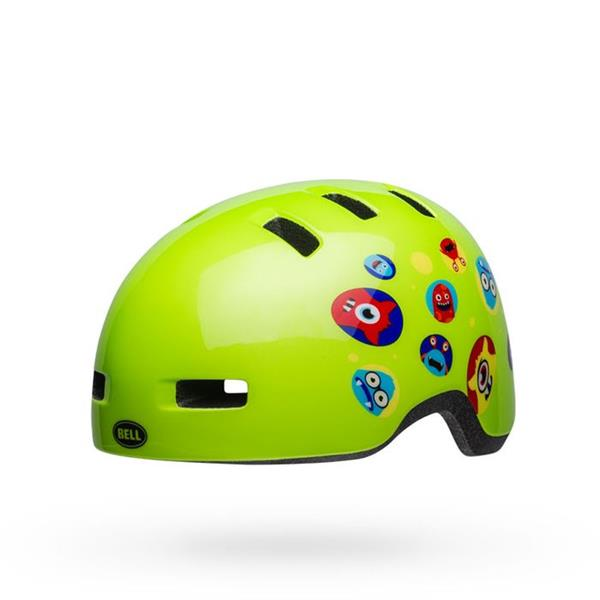 Bell Lil Ripper Baby Fahrradhelm Monsters Gloss Green 45-52 cm