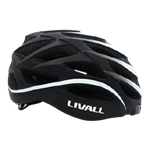 Livall BH62 Bluetooth Fahrradhelm Black White