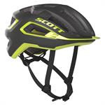 Scott Arx Plus (Mips) Fahrradhelm Dark Grey Radium Yellow